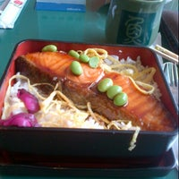 Photo taken at Sushi Kiosk! by Sushi Tei by Andinna M. on 1/1/2013