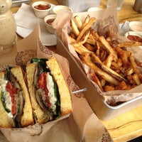 Photo taken at Bareburger by Carrie C. on 10/6/2012