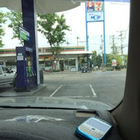 Photo taken at PTT by ThongChai y. on 4/23/2014