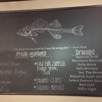 Photo taken at Thirsty Perch Fish & Oyster House by Jenn on 9/23/2012