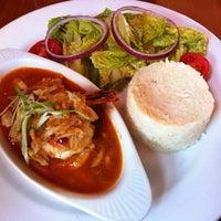 Photo taken at San Pedro Square Bistro & Wine by Nina Y. on 11/26/2012