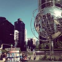 Photo taken at Columbus Circle by Alina L. on 9/20/2012