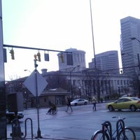 Photo taken at COTA Bus Stop @ Broad & High by Vincent S. on 12/7/2012