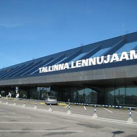 Photo taken at Lennart Meri Tallinn Airport (TLL) by Yusri Echman on 8/29/2013