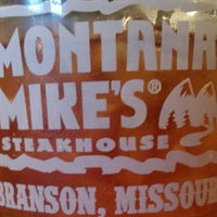 Photo taken at Montana Mike's Steakhouse by Nathan M. on 6/11/2016