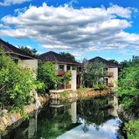 Photo taken at Fairmont Mayakoba by Carlos S. on 11/8/2012