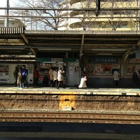 Photo taken at JR 三国ヶ丘駅 (Mikunigaoka Sta.) by まぁ on 1/26/2013