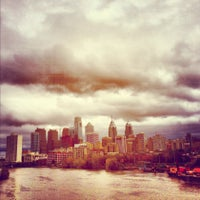 Photo taken at South Street Bridge by Visit Philly on 10/30/2012