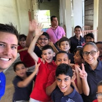 Photo taken at Fienberg Fisher K-8 by Jason B. on 5/8/2015