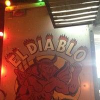 Photo taken at El Diablo Tacos by Michelle Wendy on 7/21/2013