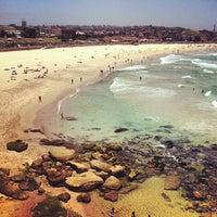 Photo taken at Bondi Beach by Christiaan H. on 1/7/2013