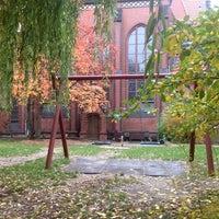 Photo taken at Samariterkirche by Da N. on 10/17/2013