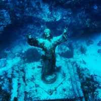 Photo taken at Christ of the Deep by Kyle J. on 7/14/2013