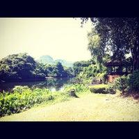 Photo taken at Pavilion Rim Kwai Resort Kanchanaburi by MayMay C. on 11/10/2012