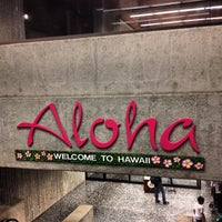 Photo taken at Honolulu International Airport (HNL) by Nicole on 4/7/2013