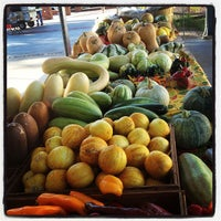 Photo taken at Fulton Street Farmer's Market by Aaron J. on 9/19/2012