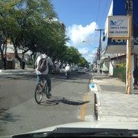 Photo taken at Avenida Hermes Fontes by Neto N. on 1/30/2014