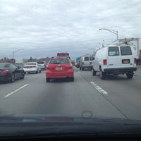 Photo taken at Long Island Expressway (LIE) (I-495) by C F S. on 4/18/2013