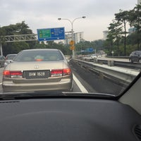 Photo taken at East-West Link Expressway by Amira A. on 4/5/2016