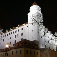 Photo taken at Bratislava Castle by Sandra B. on 11/27/2012