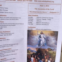 Photo taken at Nativity Of Mary Church by Kimberly S. on 6/1/2014