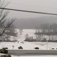 Photo taken at Hampton Inn Indiana by Rae R. on 3/26/2013