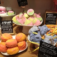 Photo taken at LUSH by Xavier B. on 12/17/2012