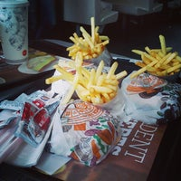 Photo taken at Burger King by Kedz G. on 5/9/2013