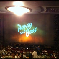 Photo taken at Porgy & Bess on Broadway by Robson C. on 10/8/2012