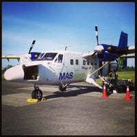 Photo taken at Mukah Airport (MKM) by Rayn_ R. on 3/20/2013