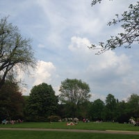 Photo taken at Stadtpark Hannover by Matthias K. on 4/26/2014