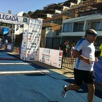 Photo taken at Sector 3 - Playa Reñaca by Rodrigo A. on 12/2/2012