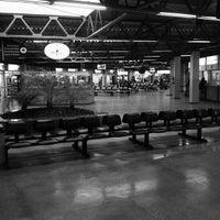 Photo taken at Terminal Rodoviário Miguel Mansur by Samir I. on 10/28/2012