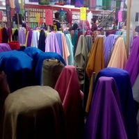 Photo taken at Zaleha Textiles by Fazihar Z. on 5/1/2016