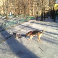 Photo taken at Детская площадка by Oleg S. on 3/13/2016