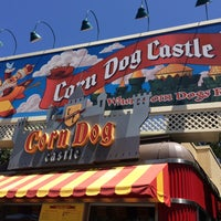 Photo taken at Corn Dog Castle by Clara K. on 6/20/2015