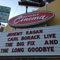 Photo taken at New Beverly Cinema by ByRShapiro on 8/5/2013