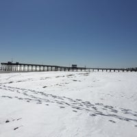 Photo taken at Ocean City Fishing Pier by Scott M. on 3/7/2015