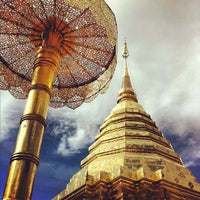 Photo taken at Wat Phrathat Doi Suthep by Kriangkrai S. on 9/11/2012