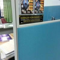 Photo taken at Jabatan Kastam Diraja Malaysia by Tuan Amat on 4/30/2013