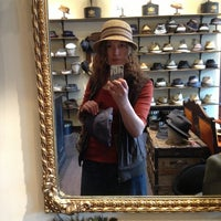 Photo taken at Goorin Bros. Hat Shop - Larimer Square by Megan B. on 4/13/2013