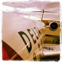Photo taken at Elmira / Corning Regional Airport (ELM) by Brian B. on 9/23/2012