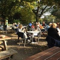 Photo taken at 't Blauwe Theehuis by Yuriy A. on 10/22/2012