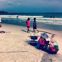 Photo taken at Sai Kaew Beach by jaime o. on 4/14/2013