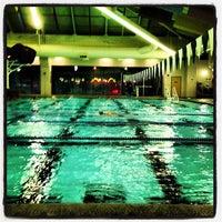 Photo taken at Shute Park Aquatic & Recreation Center (SHARC) by Josh B. on 11/15/2012