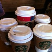 Photo taken at Starbucks by Maew P. on 12/22/2012
