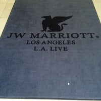 Photo taken at JW Marriott Los Angeles L.A. LIVE by Stuart R. on 4/17/2013