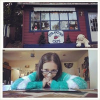 Photo taken at Strawtown Cafe by Ed H. on 10/20/2013