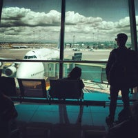 Photo taken at Leonardo da Vinci–Fiumicino Airport (FCO) by Oliver A. on 5/26/2013