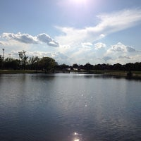 Photo taken at Carrollton Public Library - Josey Ranch Lake by RoMeR on 4/7/2014
